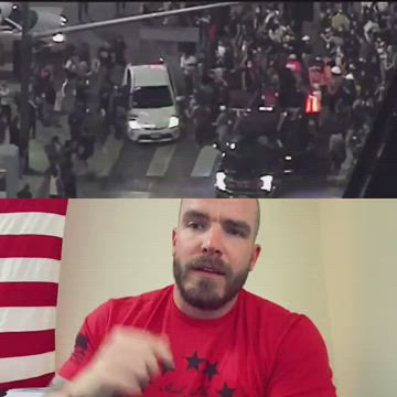 peaceful protesters ?