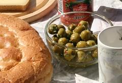 Shiny olives!