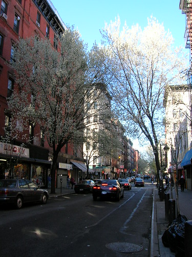 springtime on clinton street