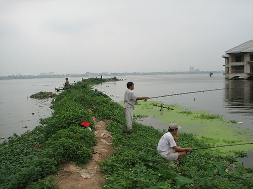 Fishing West Lake