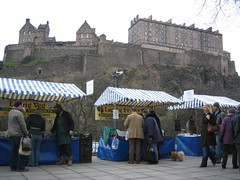 Stalls at Edinburgh's Farmers market on Castle Terrace (6)