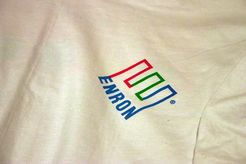 The Enron Shirt: Logo