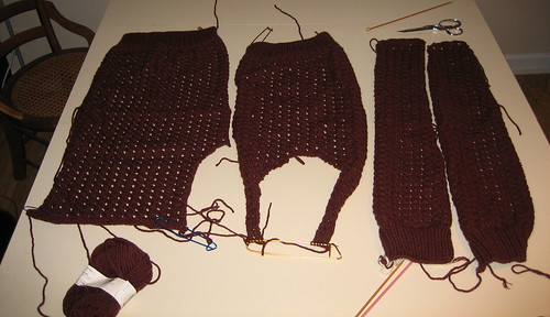 phildar sweater pieces