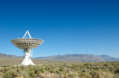Radio Telescope in the desert
