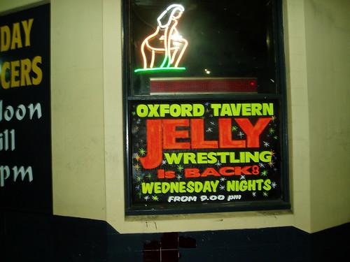 jelly wrestling fun