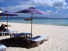 Boracay Regency beach lounges