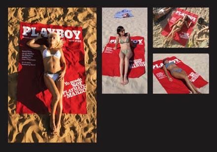 playboy en la playa