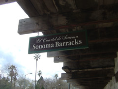 Sonoma Barracks - Sign