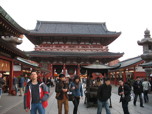 Asakusa, isprid hrama