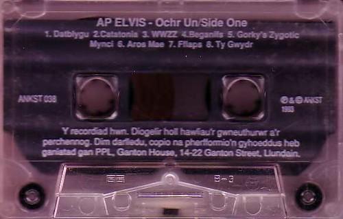 Ap Elvis - caset, ochr A