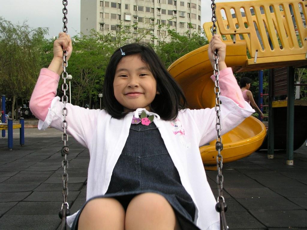 中和四號公園—Annie 喜歡的盪鞦韆