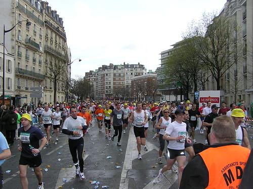 Marathon 1st Red Team Stop1