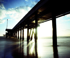sunset, venice, ca. 2006.