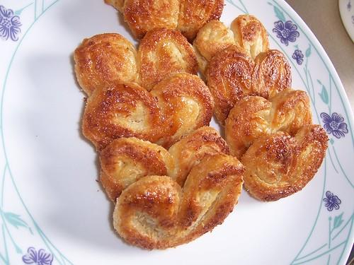 Crispy,Flaky,Sweet Palmiers