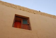 Orange Curtains, Jaisalmer, Rajasthan, India Captured April 14, 2006.