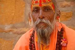 Painted Face Guy, Jaisalmer, Rajasthan, India Captured April 14, 2006.
