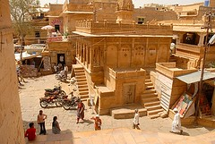 Inside Jaisalmer  Fort 2, Jaisalmer, Rajasthan, India Captured April 14, 2006.