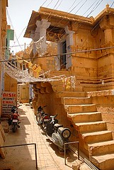 Inside Jaisalmer Fort 1, Jaisalmer, Rajasthan, India Captured April 14, 2006.