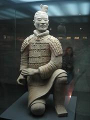 kneeling archer