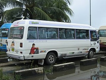 bus in suriname