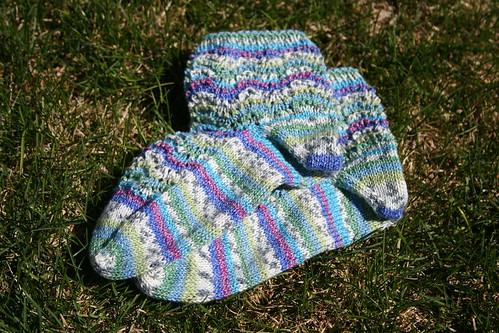 sockapaloooza socks - FINISHED!