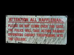 attn all rafflesians