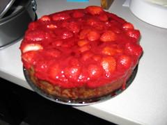 Photo of Strawberry Cheesecake for Ari Kushimoto