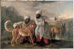 Stubbs - A Cheetah and a Stag © Manchester Art Gallery