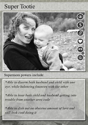 Super Tootie trading card