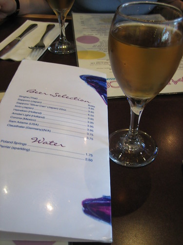 Plum Wine and drinks menu, Sugar and Spice