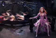 Steven Klein photograph of Tatiana Urina for Alexander McQueen