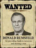 Wanted Rumsfeld