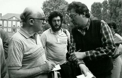mit Avrom Sutzkever (Oksford 1983)