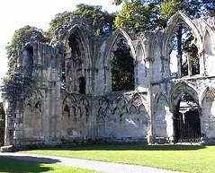 St Marys Abbey in York