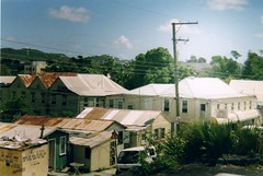 Antigua - St John's iron roofs