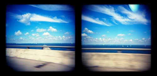 Lake Michigan from 794 on the Hoan Bridge