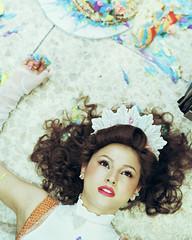 Hashimoto Reika wears Milk 01