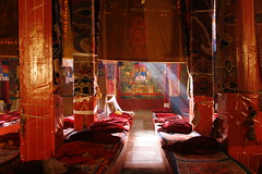 Ganden Monastery Assembly Hall