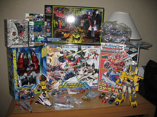 My current Botcon haul.