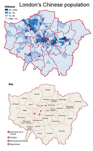 Greater China: London