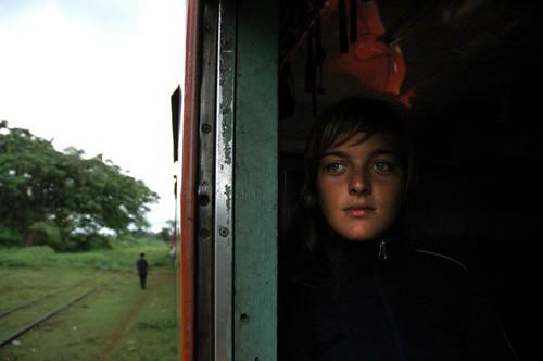 Train from Pyin-u-lwin to Hsipaw (Flicker)