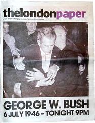 La 'muerte' de Bush