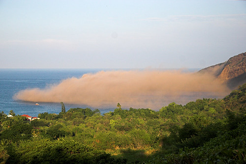 Flickr Image of Hawaiian Earthquake dust