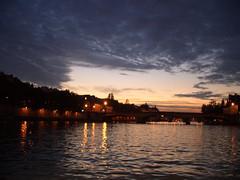Sundown from the Seine