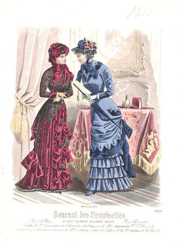 Journal des Demoiselles, A Confidence, 1881