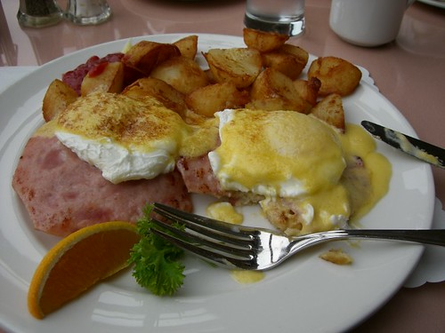 The BEST Eggs Benedict I've Ever Had