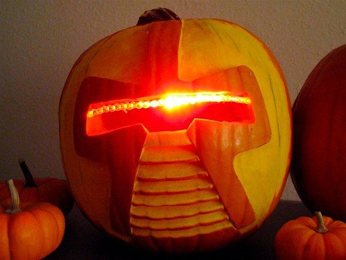 Make A Cylon Jack-O-Lantern - Evil Mad Scientist Laboratories