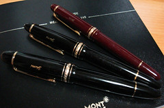 MONTBLANC Meisterstuck pens