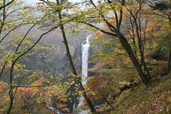 Kegon fall in autumn