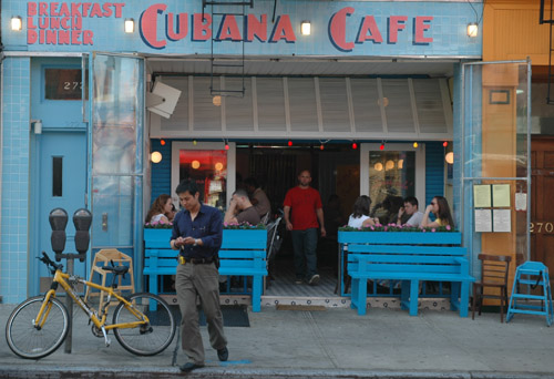 Cubana Cafe Brooklyn Park Slope